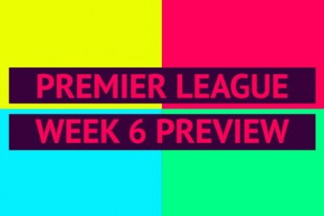 Premier League preview - week 6