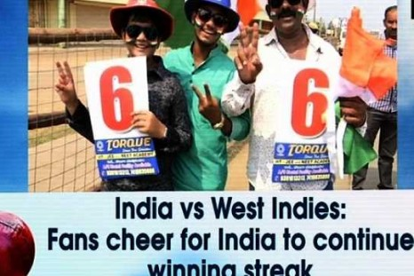India vs West Indies: Fans cheer for India to continue winning streak
