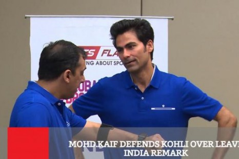 Mohd Kaif Defends Kohli Over Leave India Remark
