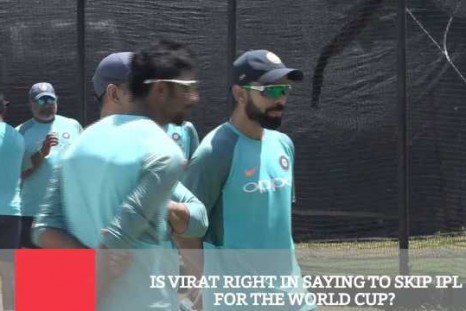 Is Virat Right In Saying To Skip IPL For The World Cup?