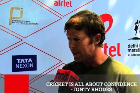 Cricket Is All About Confidence - Jonty Rhodes