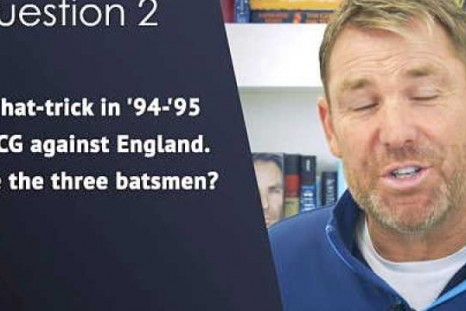 How much do you know about Shane Warne's career?