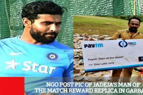 NGO Post Pic Of Jadeja's Man Of The Match Reward Replica In Garbage
