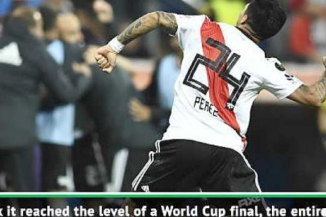 Copa Lib showpiece was like a World Cup final - River Plate's Diaz
