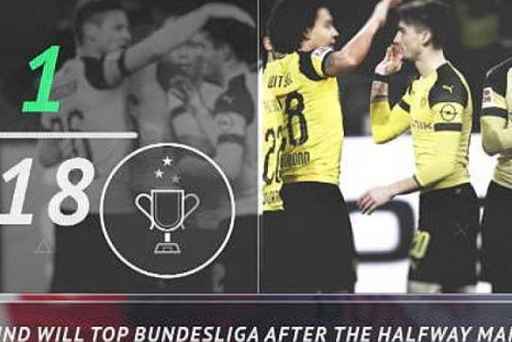 5 things: Dortmund on top before winter break