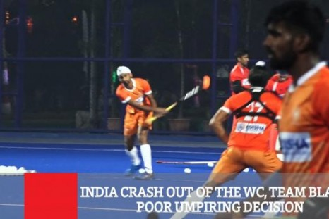 India Crash Out Of The WC, Team Blames Poor Umpiring Decision