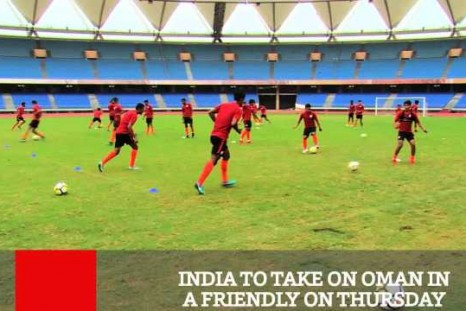 India To Take On Oman In A Friendly On December 27