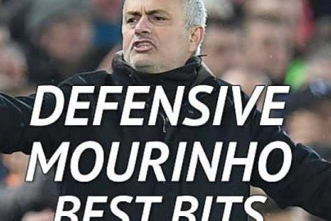 Mourinho on the defensive - best bits
