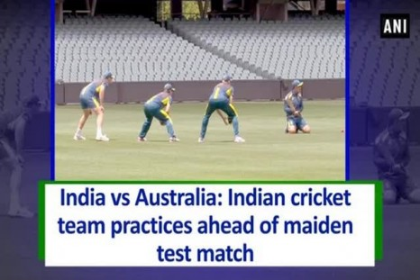 India vs Australia: Indian cricket team practices ahead of maiden test match