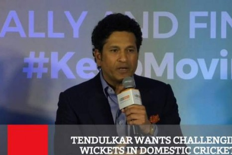 Tendulkar Wants Challenging Wickets In Domestic Cricket