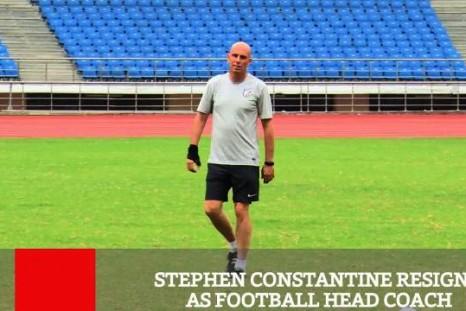 Stephen Constantine Resigns As Football Head Coach