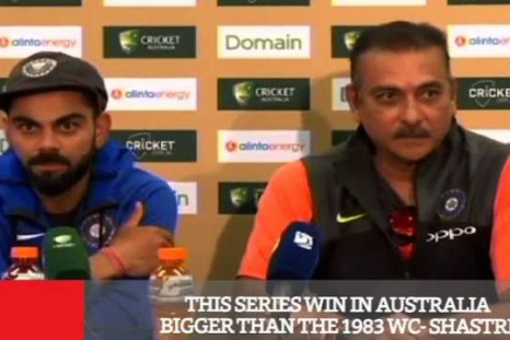 This Series Win In Australia Bigger Than The 1983 Wc - Shastri