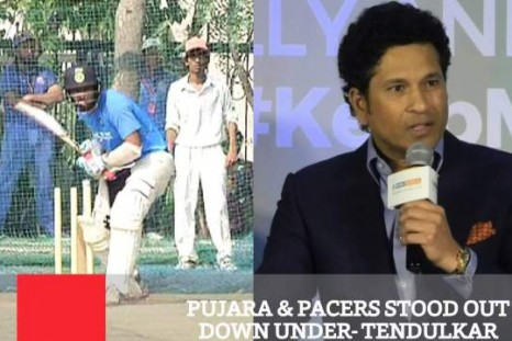 Pujara & Pacers Stood Out Down Under - Tendulkar