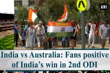 India vs Australia: Fans positive of India's win in 2nd ODI