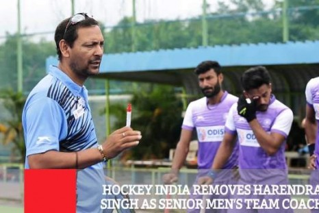 Hockey India Removes Harendra Singh As Senior Men's Team Coach
