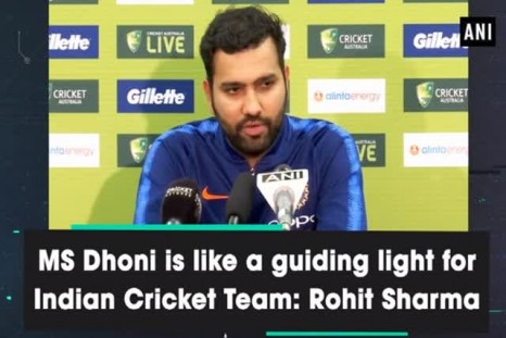 MS Dhoni is like a guiding light for Indian Cricket Team: Rohit Sharma
