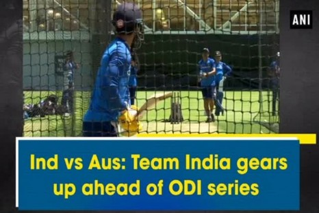 Ind vs Aus: Team India gears up ahead of ODI series