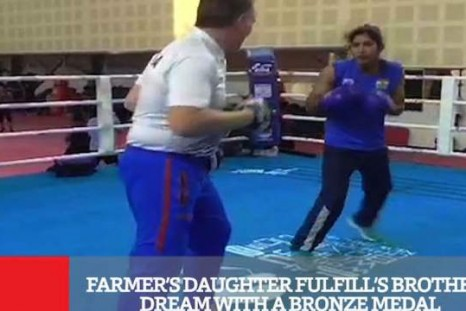 Farmer's Daughter Fulfill's Brother's Dream With A Bronze Medal