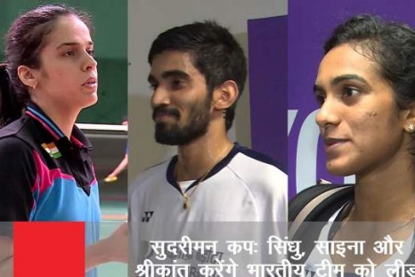 P.V.Sindhu, Saina And Srikanth To Lead Indian Team For Sudirman Cup