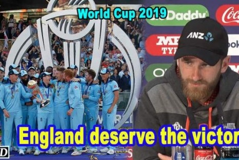 World Cup 2019 - England deserve the victory: Williamson
