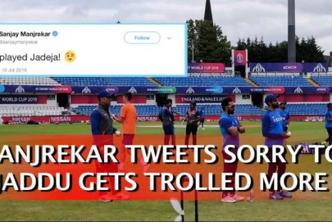 Manjrekar Tweets Sorry To Jaddu, Gets Trolled More
