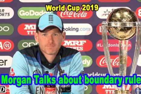 World Cup 2019 - Eoin Morgan talks about Boundary rules, Risk for England