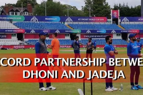 Record Partnership Between Dhoni And Jadeja