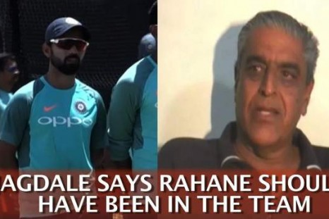 Jagdale Says Rahane Should Have Been In The Team