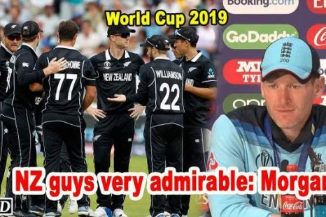 World Cup 2019 - NZ guys very admirable: Morgan
