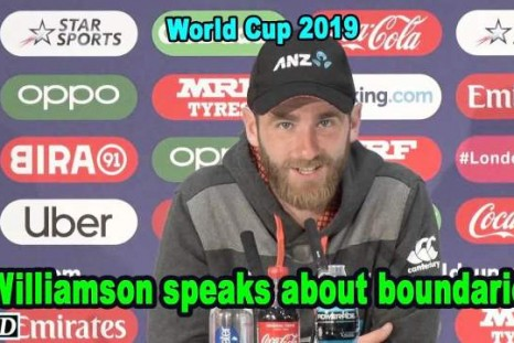 World Cup 2019 - Williamson speaks about boundaries