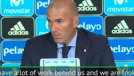 Real Madrid is hungry for more trophies  Zidane
