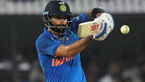 Kohli equals Dhoni's record winning run