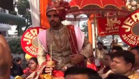 Watch : The First Visuals Of Bhuvneshwar Kumar's Wedding
