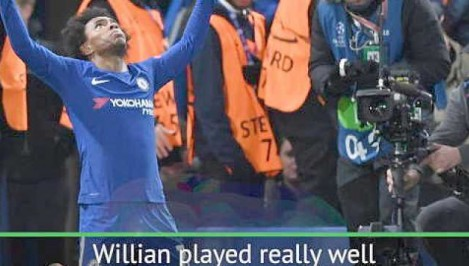 Willian Hazard and Pedro combination delights - Conte