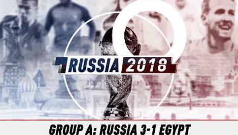 Russia 3-1 Egypt - Fast Match Report