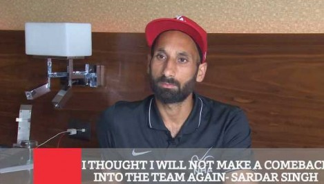 I Thought I Will Not Make A Comeback Into The Team Again - Sardar Singh