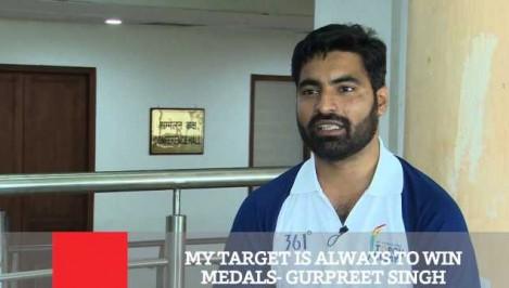 My Target Is Always To Win Medals - Gurpreet Singh