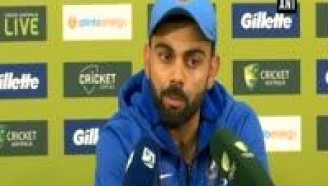 India vs Australia: India wins series Virat Kohli showers praises on Dhoni