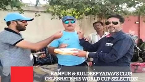 Kanpur Kuldeep Yadav s Club Celebrate His World Cup Selection
