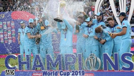 World Cup 2019 - England win maiden WC after dramatic Super Over
