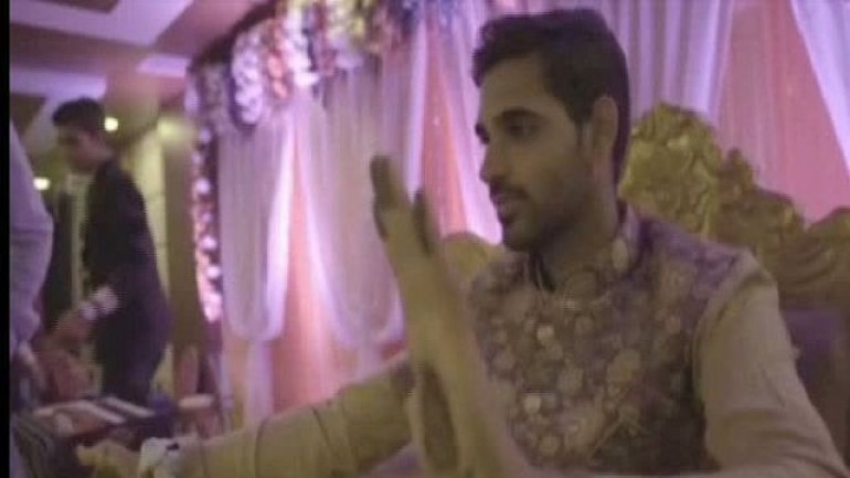 Watch : Bhuvneshwar Kumar's Mehendi Ceremony