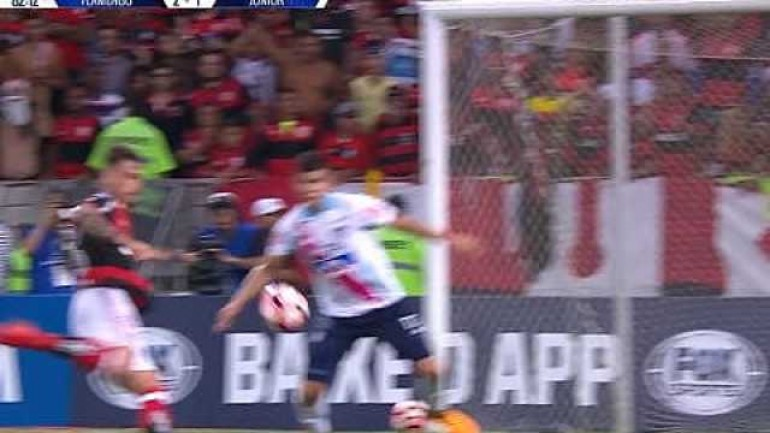 Felipe Vizeu's stunning volley winner for Flamengo