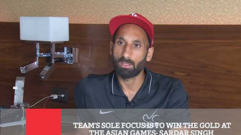 Team s Sole Focus Is To Win The Gold At The Asian Games - Sardar Singh