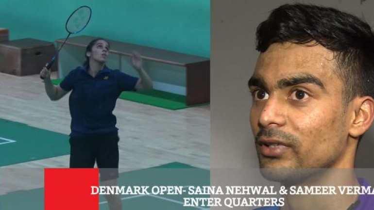 Denmark Open - Saina Nehwal Sameer Verma Enter Quarters