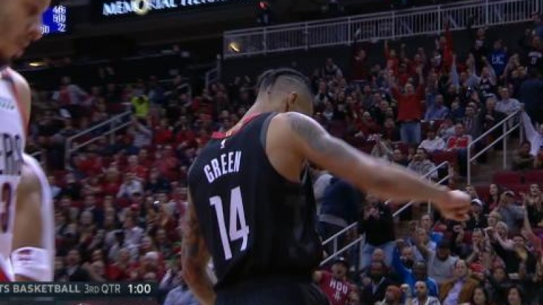 Top 3 plays - Harden s drive and Green s dunk