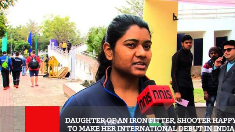 Daughter Of An Iron Fitter Shooter Happy To Make Her International Debut In India