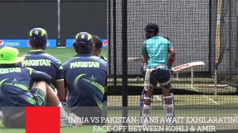 India Vs Pakistan - Fans Await Exhilarating Face-Off Between Kohli Amir
