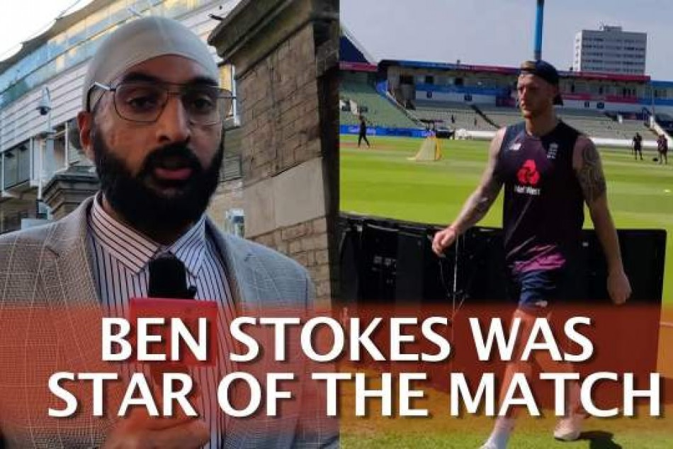 Ben Stokes Was Star Of The Match