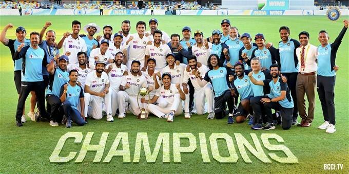 India Tour Of Australia 2020 - 21 Photos