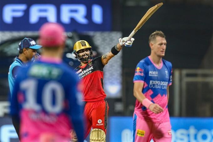 IPL 2021: RCB vs RR, Match 16 Photos